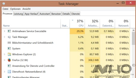 AntiMalware Service Executable full CPU, high cpu win10