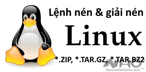 lenh nen va giai nen trong linux_nguyenhaionline.com