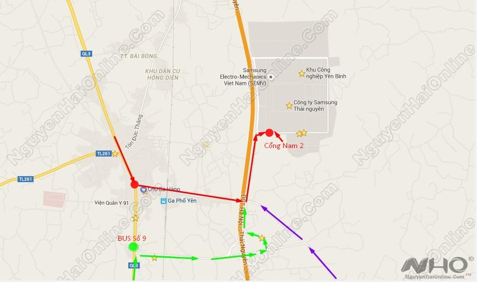 duong-toi-cong-nam-2-samsung-thai-nguyen-google-maps-1
