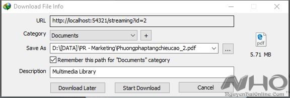 Tai file Mega.nz bang IDM 2016_008
