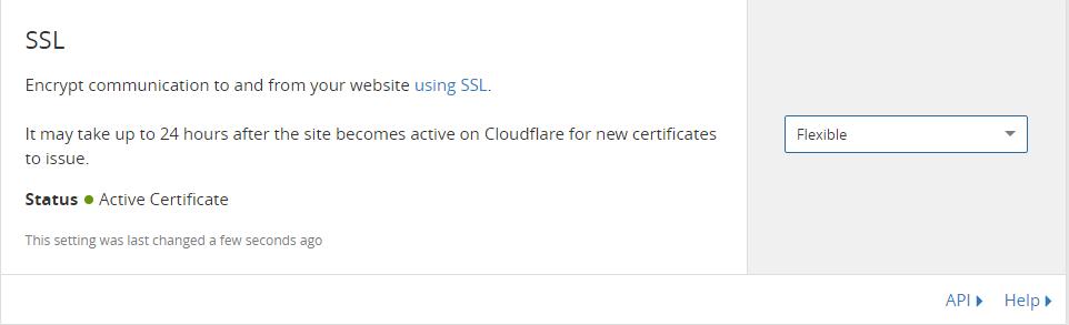 Crypto ssl cloudflare