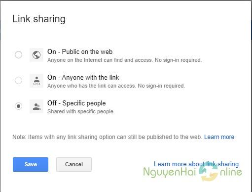 link shareing